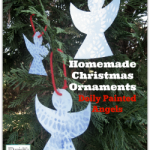 Christmas Ornaments- Painted Angels