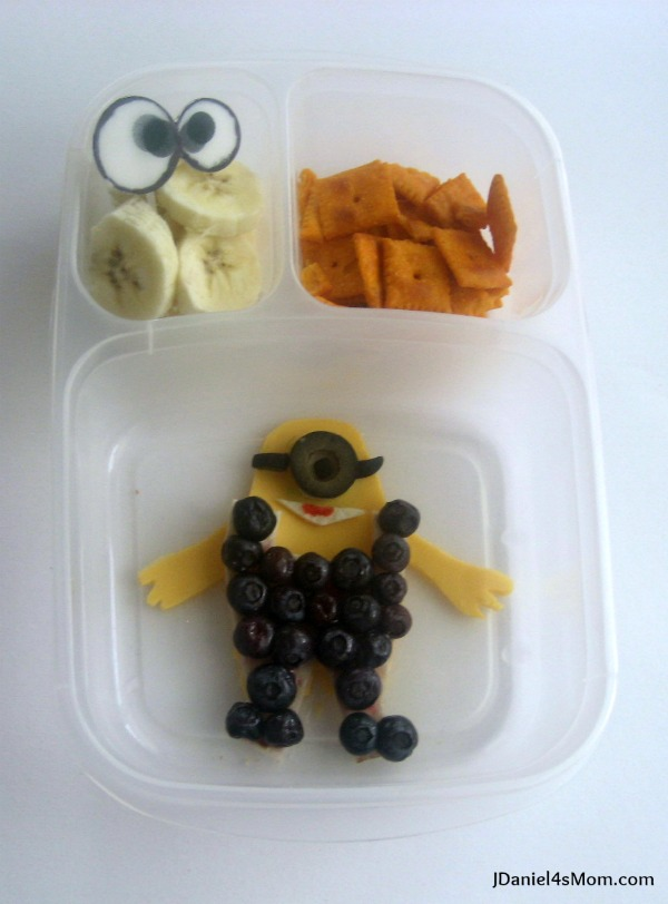 Despicable Me Minion Lunch for Kids