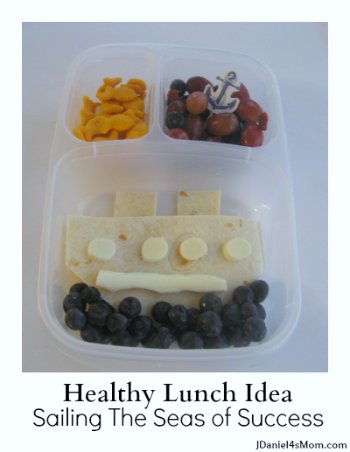 Healthy Lunch Idea- This idea and several others will help you sail the sea of lunch time success.