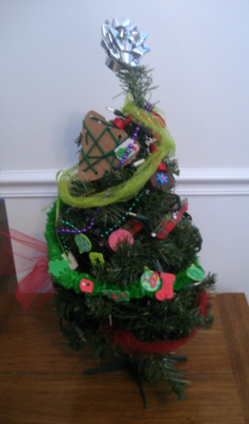 Christmas Treasure Tree