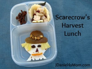 Scarecrow Harvest Lunch for Kids