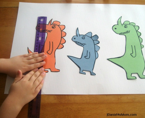 Math for Kids- Measuring Really, Really, Big Dinosaurs :Standard Measurement