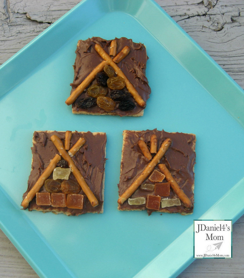 Kid Friendly Recipes- Teepee Snack