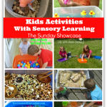 Kids Activities with Sensory Bins