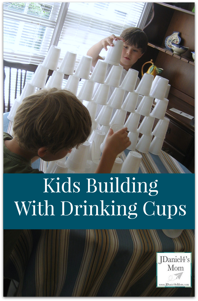 kids-building-with-drinking-cups