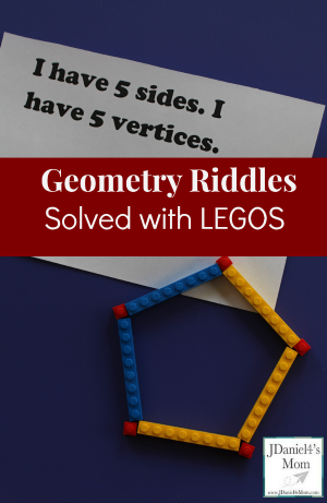 Math Solver- Geometric Riddles Solved with LEGOS