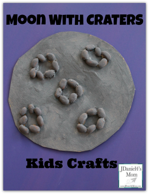 moon craters craft- Kids Crafts