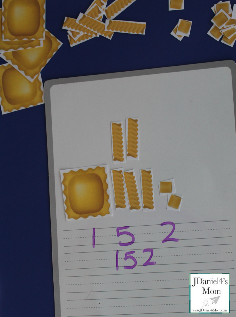 Place Value Games- Pasta Printables