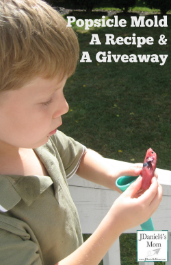 Popsicle Molds, a Recipe and a Giveaway