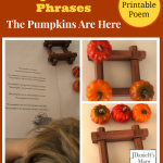 Prepositional Phrases Activity- The Pumpkins Are Here!