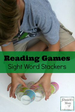 Reading Games Sight Word Stackers