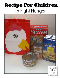 Recipe  for Children to Fight Hunger
