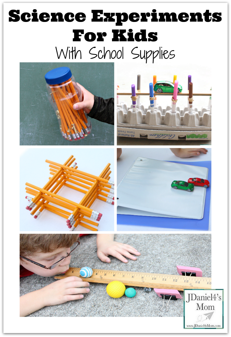 Science Experiments for Kids with School Supplies