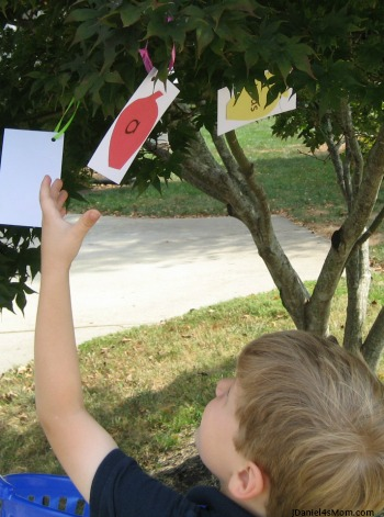 Sight Word Game Apple Tree Word Reading