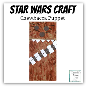 star wars craft chewbacca puppet featured