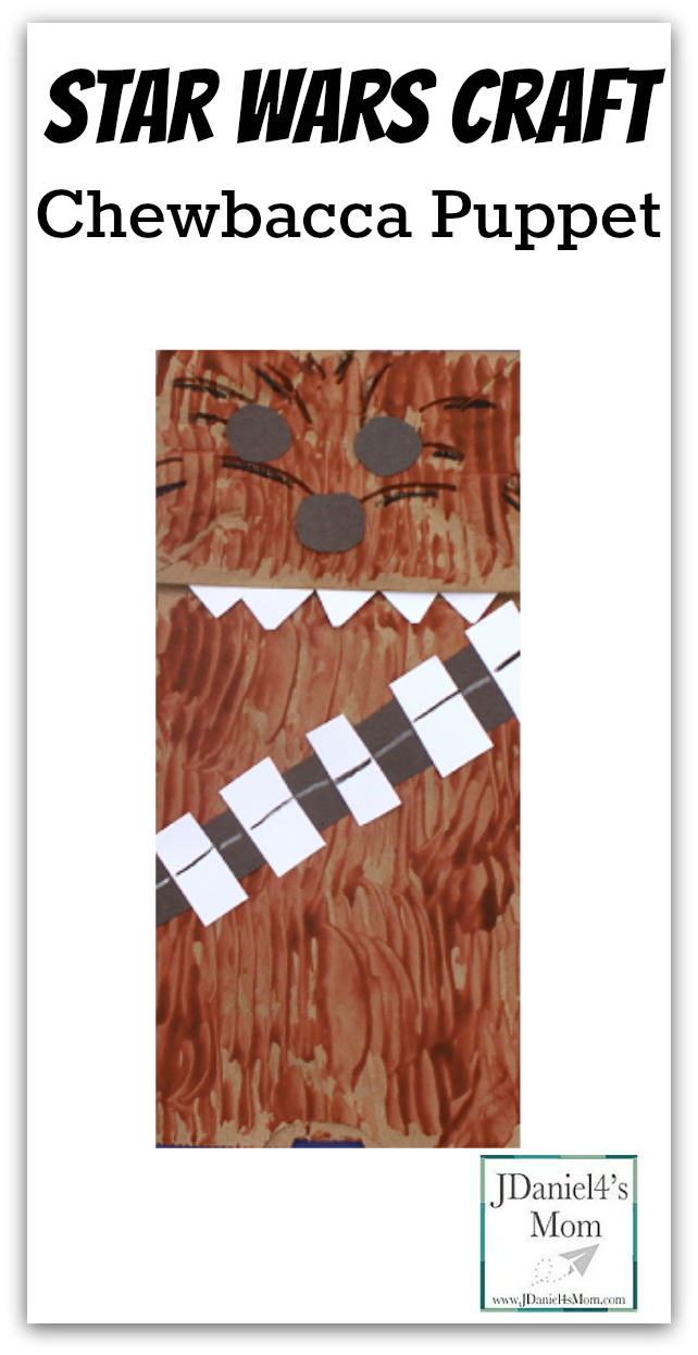Star Wars Craft- Chewbacca Puppet