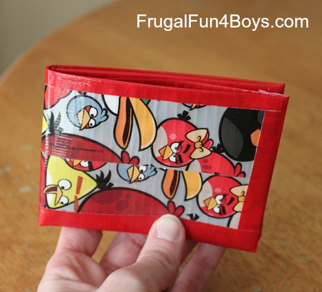 Washi, Painter's and Duct Tape Craft and Activities- Duct Tape Wallet
