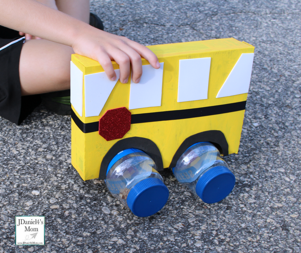 Wheels on the Bus STEM Activity Finding Wheels that Move - Peanut Container
