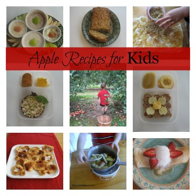 apple recipes for kids