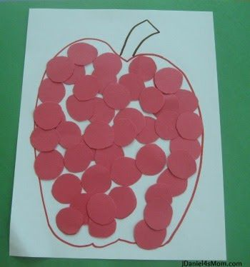 Back to School Shapes Craft- Circles Away We Go!