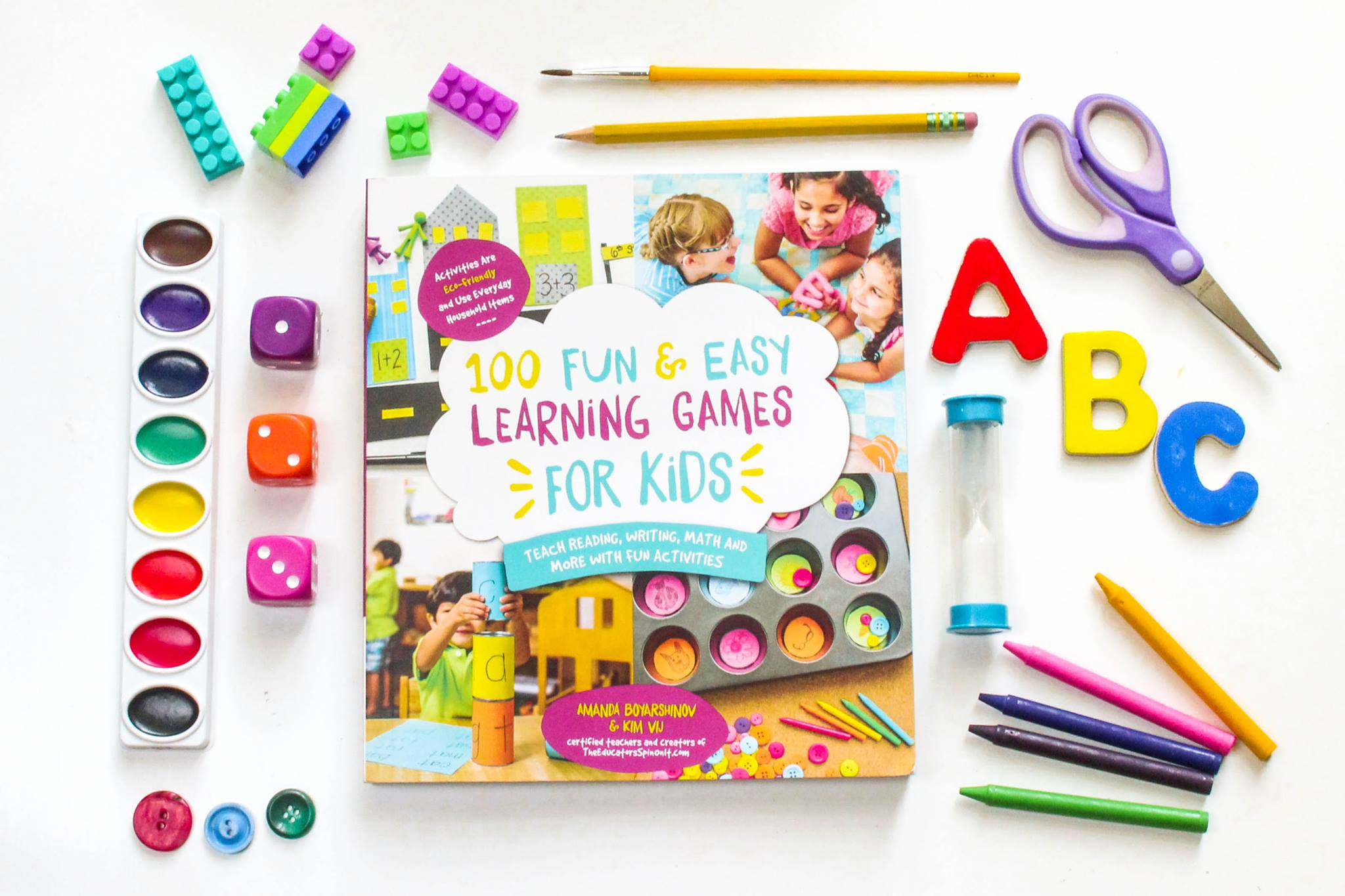 100 fun and easy learning games for kids for Waste material activity