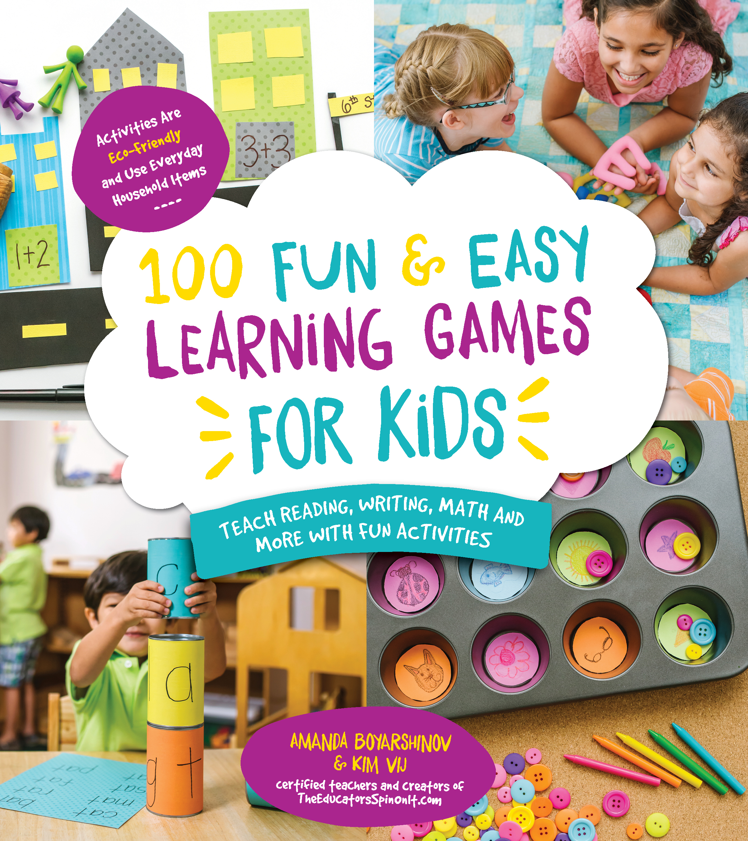 100 Fun and Easy Learning Games for Kids- Sight Word Bottle