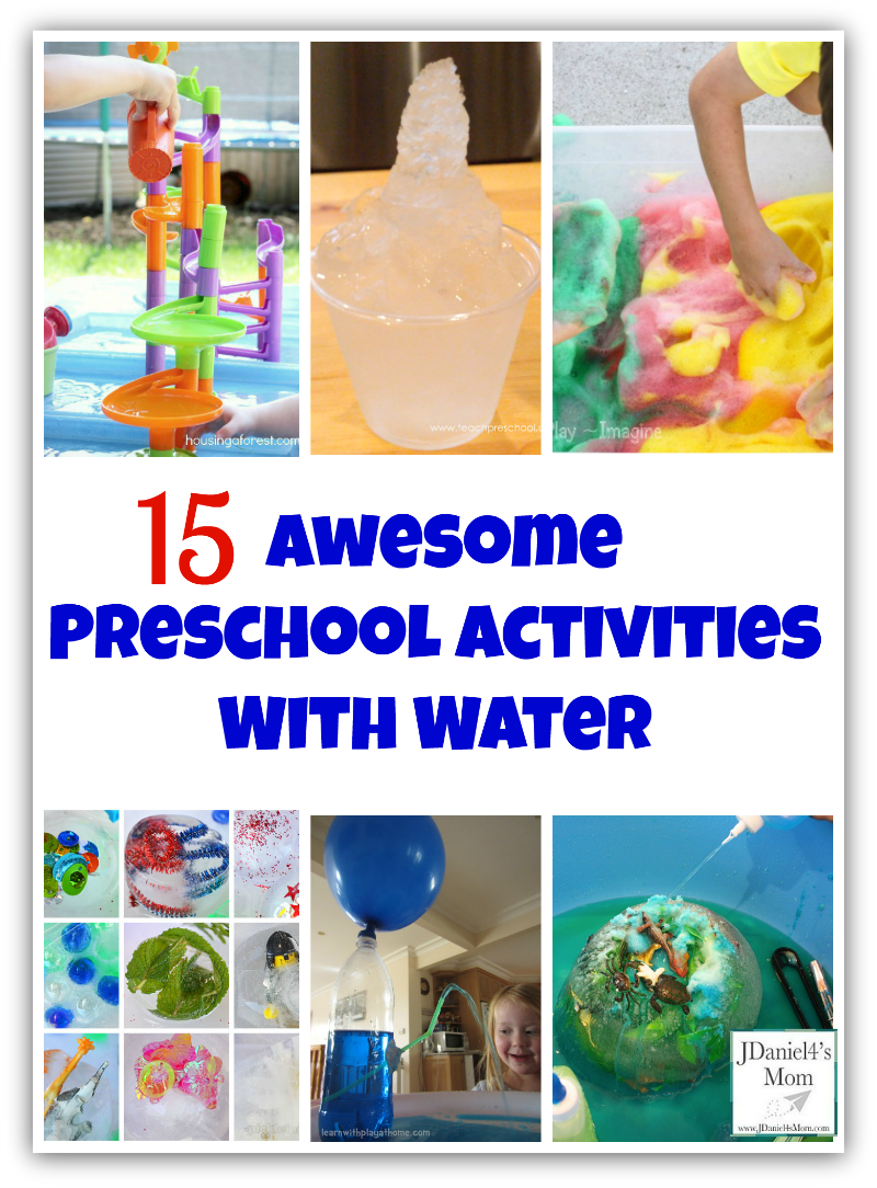 15 Awesome Preschool Activities with Water