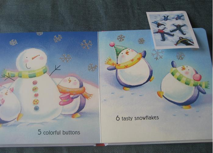 One Snowy Day Counting Activity