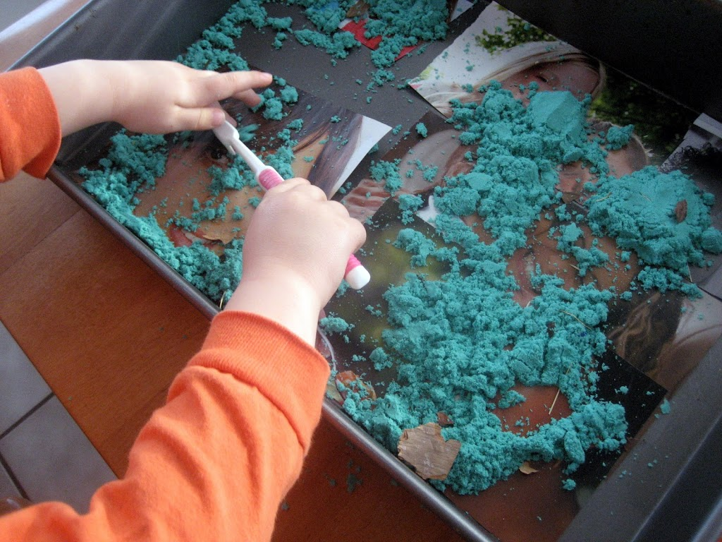 Tooth Book Themed Sensory Bin
