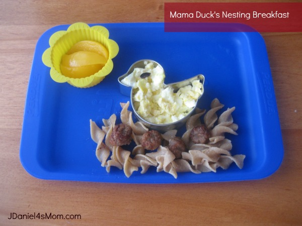 Muffin Tin Monday - Mama Duck Nesting