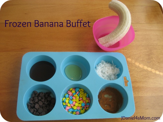 Frozen Banana Buffet
