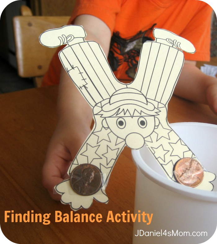 StickFiggy and Piggy Monkey Finding Balance