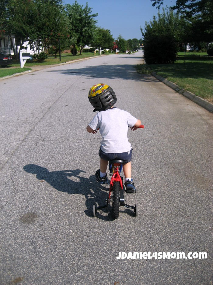 Olympics for Kids: Long Distance Bike Ride and Hop Photo One