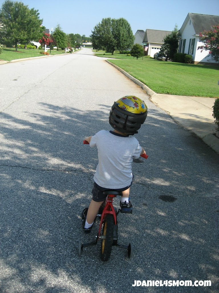 Olympics for Kids: Long Distance Bike Ride and Hop Photo Two