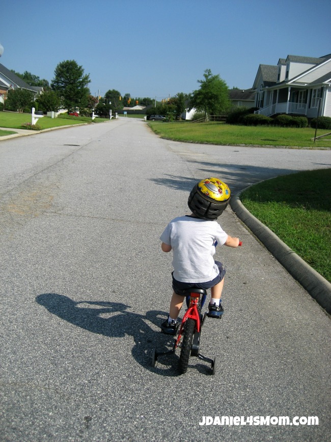 Olympics for Kids: Long Distance Bike Ride and Hop Photo Three