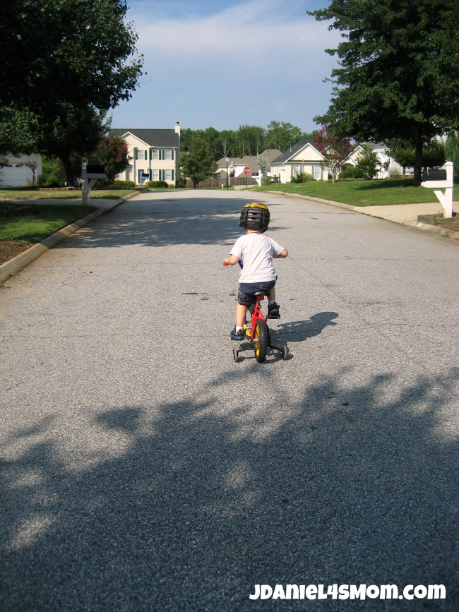 Olympics for Kids: Long Distance Bike Ride and Hop Photo Four