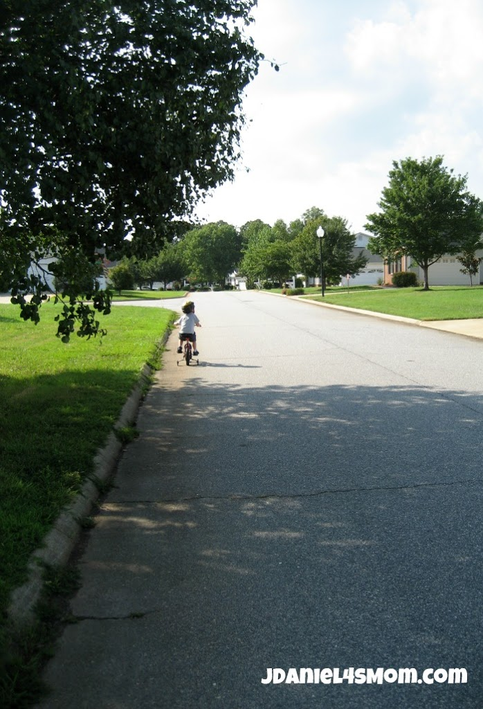 Olympics for Kids: Long Distance Bike Ride and Hop Photo Five