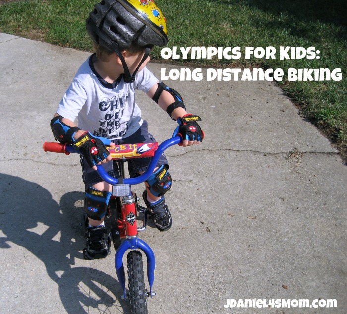 Olympics for Kids: Long Distance Bike Ride and Hop