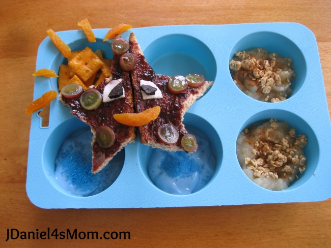 Starfish Muffin Tin Meal for Kids