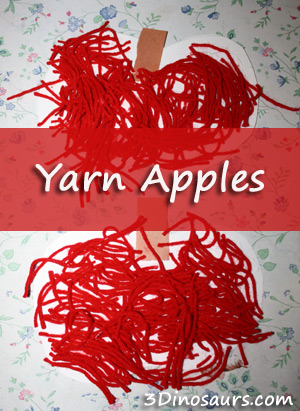 Ten Apples: Read.Explore.Learn.- Yarn Apples