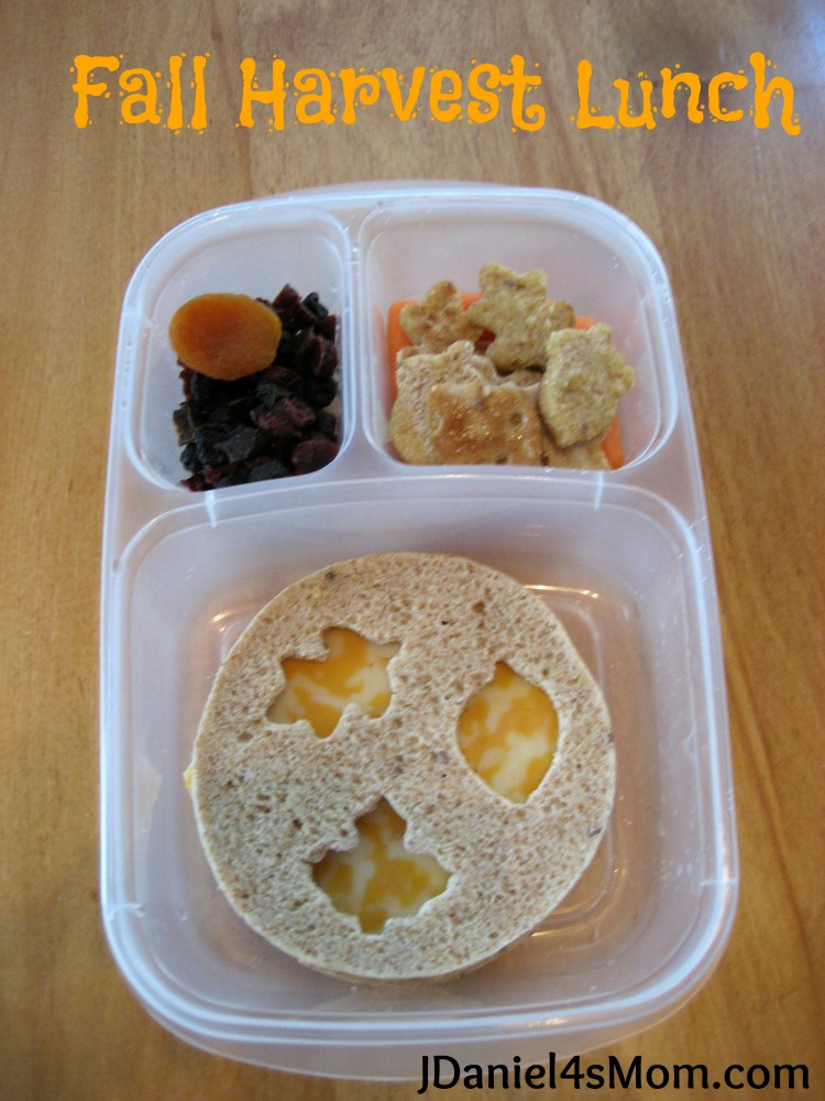 Lunch Idea- Fall Bento Lunch
