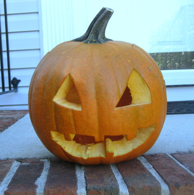 Carving Pumpkins From the Pumpkin's Point of View
