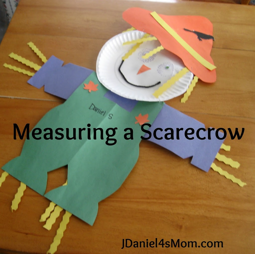 The Lonely Scarecrow Activities for Kids- Measuring a Scarecrow