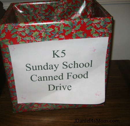 Giving Christmas to Others- Planning a Food Drive