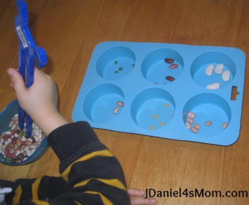 New Year's Eve Craft- Noise Maker Shakers- Sorting Beans