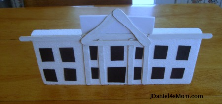 The White House Craft for Kids- Read.Explore.Learn