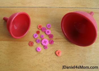 Valentine's Day Sensory Bin for Kids