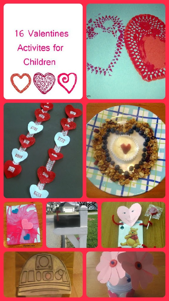 16 Valentine39s Day Activities For Kids