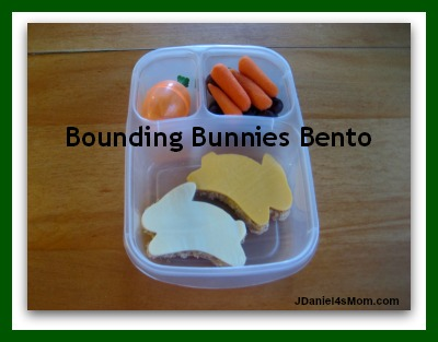 Healthy Lunch Ideas - Bounding Bunnies
