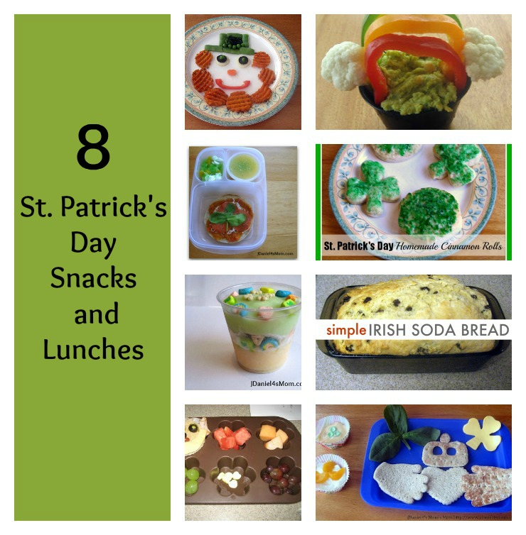8 St. Patrick's Day Snacks and Lunches
